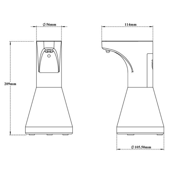Automatic (Sensor) Lotion Dispenser Countertop