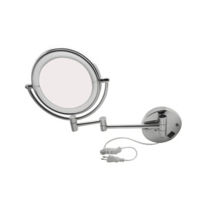 LED (Light) Shaving & Makeup Mirror Round