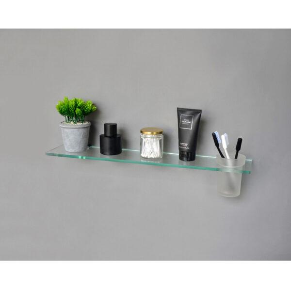 Glass Shelf with Tumbler H2O