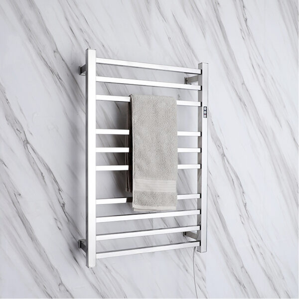 Electric Heated Towel Rail Rack  Square