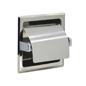In Wall Toilet Paper Roll Holder