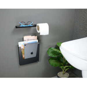 Toilet Roll with Specs Holder-Quebec