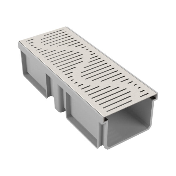 Trench Drain with SS 304 Grating
