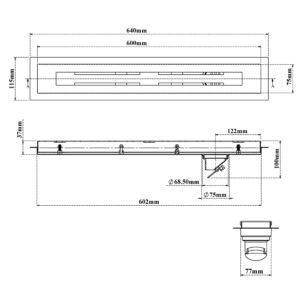 Shower Channel Drain-Parallel