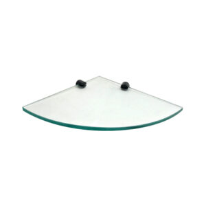 Corner Glass Shelf without Rail H2O