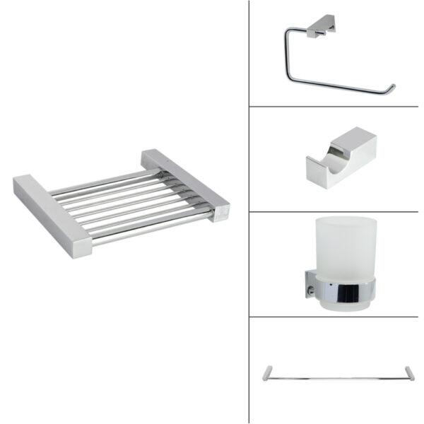 Square Bath Accessories