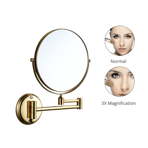 Shaving/Makeup Mirror (3x Magnifying)
